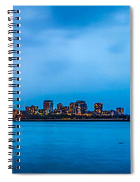 Milwaukee Skyline - Version 2 Spiral Notebook