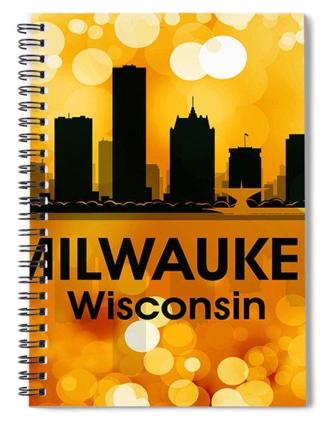 Milwaukee Wi 3 Spiral Notebook