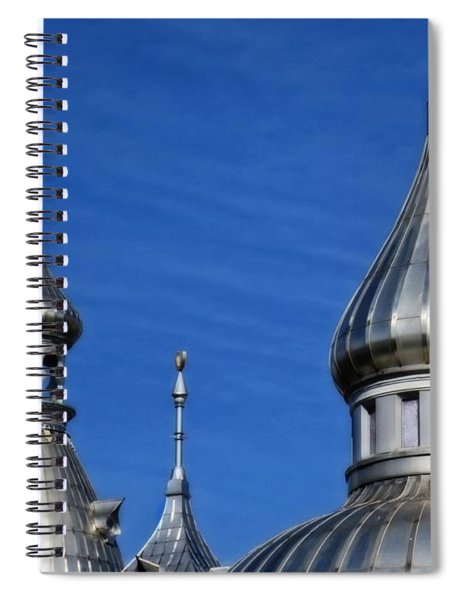 Minarets Of Tampa - Photography By Sharon Cummings Spiral Notebook