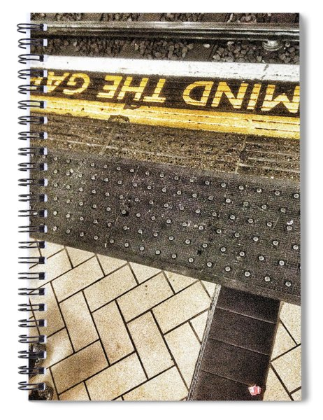 Mind The Gap Spiral Notebook