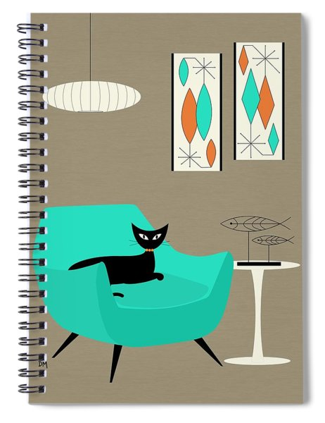 Mini Gravel Art 7 Spiral Notebook
