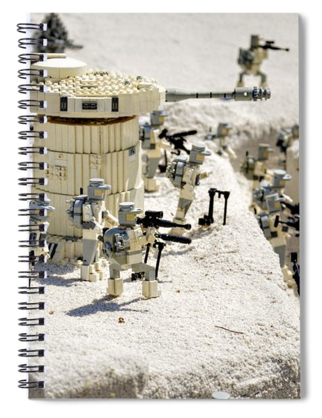 Mini Hoth Battle Spiral Notebook