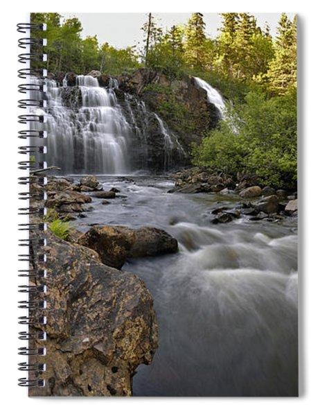 Mink Falls Spiral Notebook