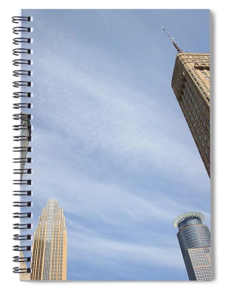 Minneapolis Skyline Spiral Notebook