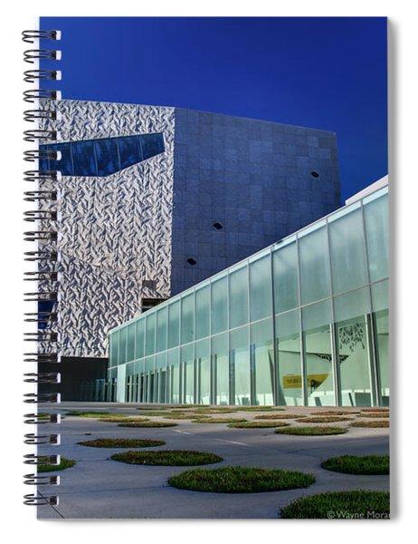 Minneapolis Skyline Photography Walker Art Museum Spiral Notebook