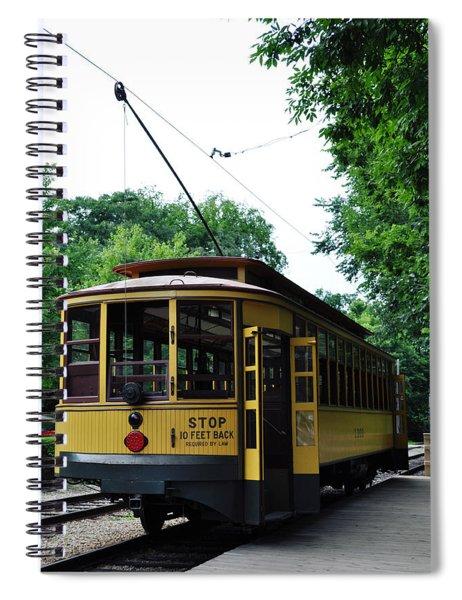 Minnesota Streetcar Museum Spiral Notebook