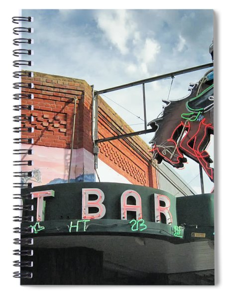 Mint Bar Sheridan Wyoming Spiral Notebook
