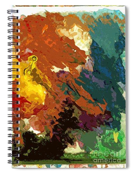 Mirage No 2 Spiral Notebook