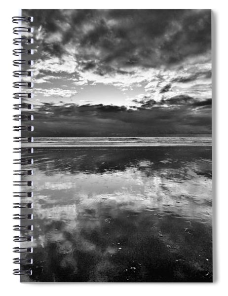 Mirror Explosion Spiral Notebook