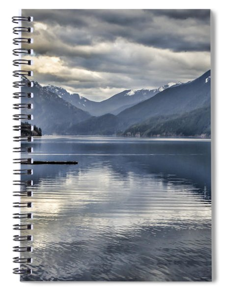 Mirror Image Spiral Notebook