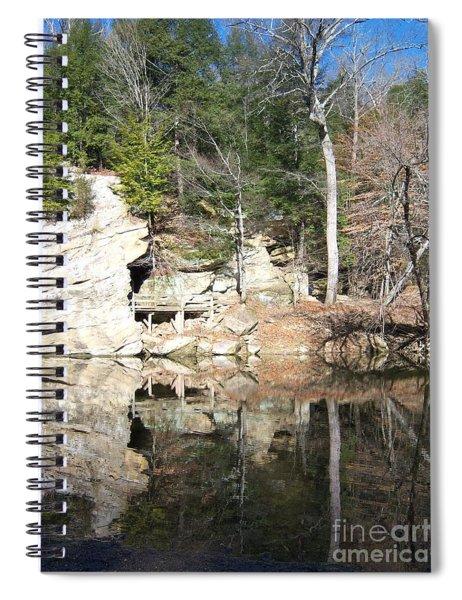 Sugar Creek Mirror Spiral Notebook