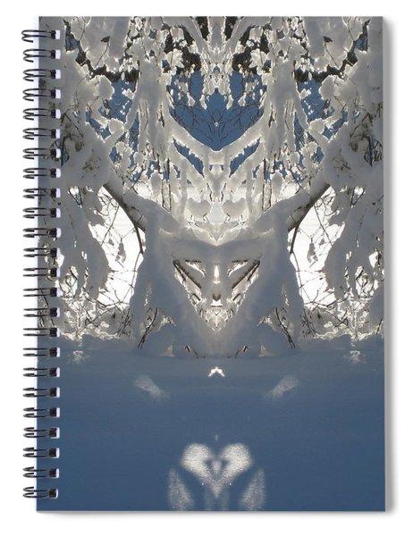 Mirror Of Snow  Spiral Notebook