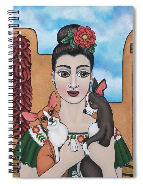 Mis Carinos Spiral Notebook