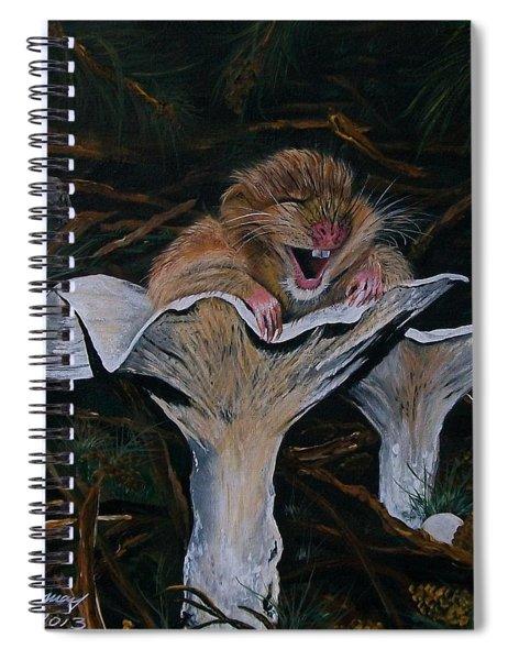 Mischievous Molly Spiral Notebook