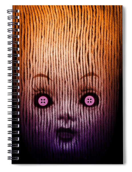 Miss Button Spiral Notebook