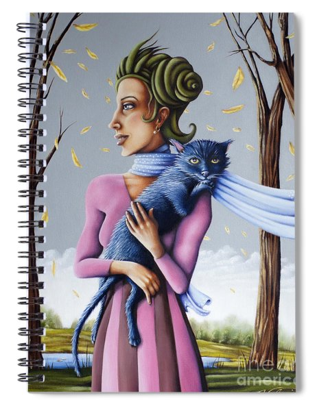 Miss Pinky's Outing Spiral Notebook
