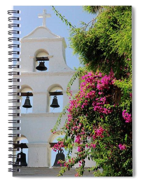 Mission Bells Spiral Notebook