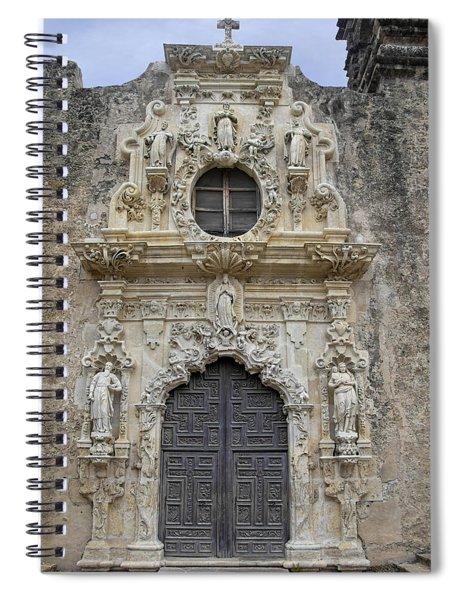 Mission San Jose Doorway Spiral Notebook