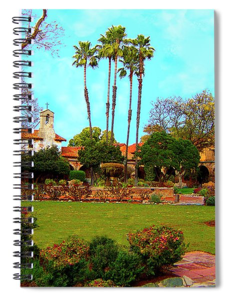 Mission San Juan Capistrano No 11 Spiral Notebook