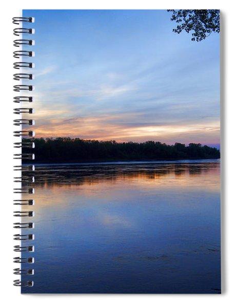 Missouri River Blues Spiral Notebook