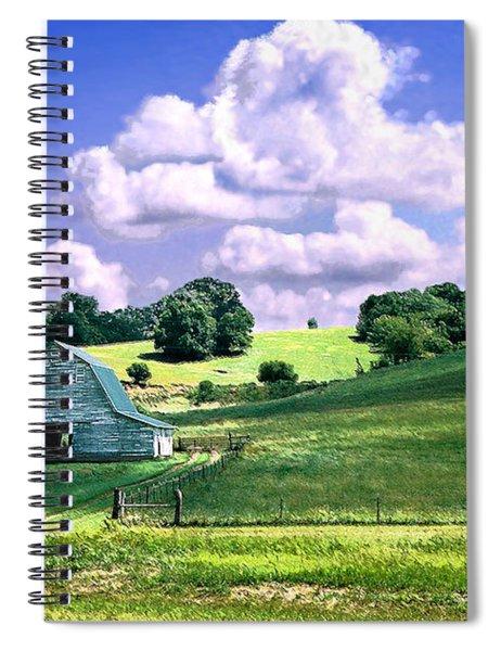 Missouri River Valley Spiral Notebook