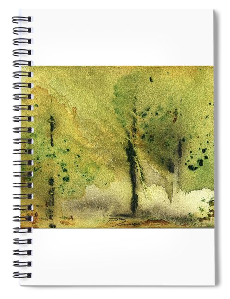 Mist And Morning Spiral Notebook