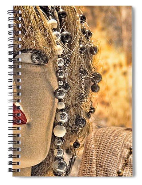 Mistrust Spiral Notebook