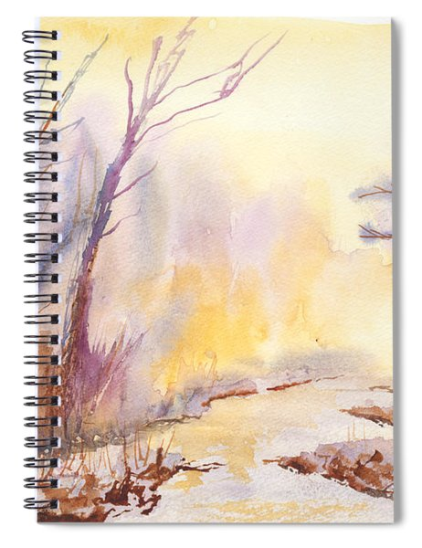 Misty Creek Spiral Notebook