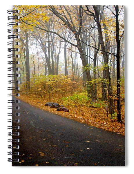 Misty Minnesota Mile Spiral Notebook