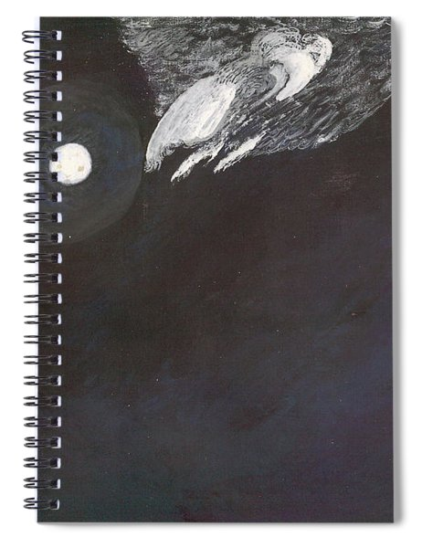 Misty Twinight Spiral Notebook