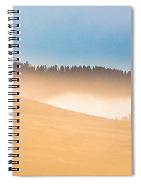 Misty Yellowstone   Spiral Notebook