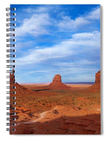 Mittens Afternoon Spiral Notebook
