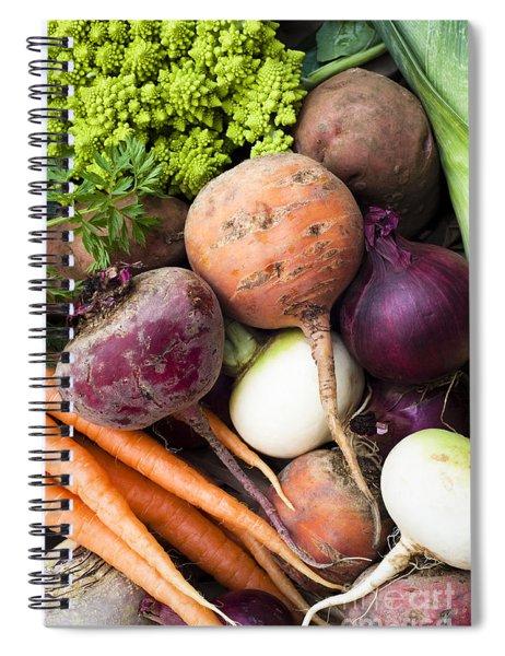 Mixed Veg Spiral Notebook
