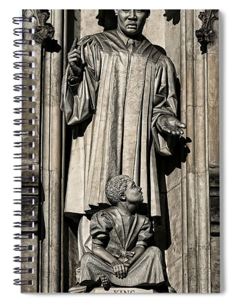 Mlk Memorial Spiral Notebook