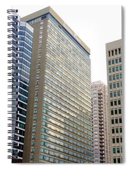 Modern Office Buildings Spiral Notebook