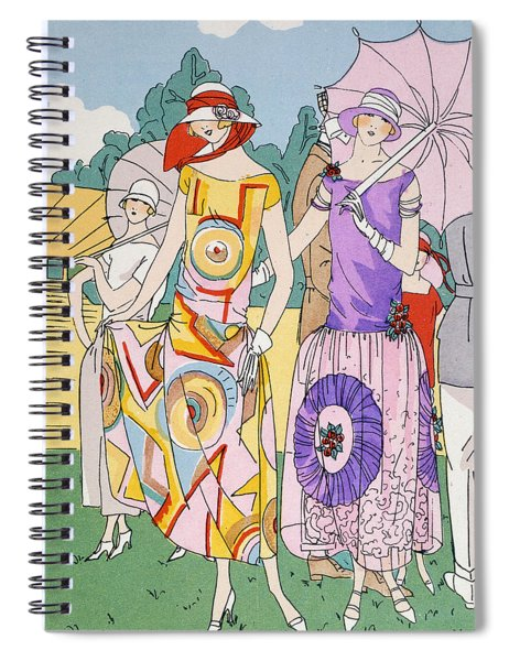 Modes Of The Moment Spiral Notebook