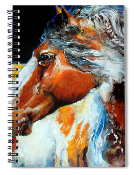 Mohican The Indian War Pony Spiral Notebook