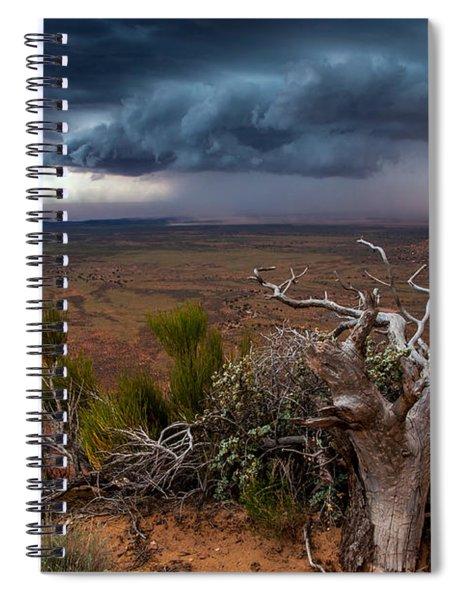 Moki Dugway Thunderstorm - Southern Utah Spiral Notebook