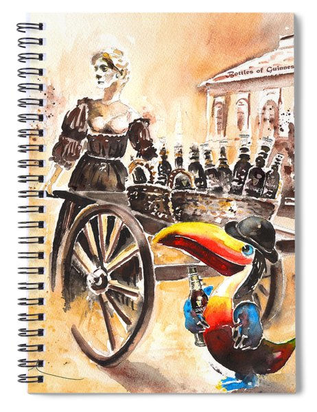 Molly Malone Spiral Notebook