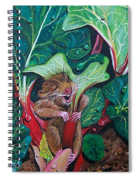 Molly's Umbrella  Spiral Notebook