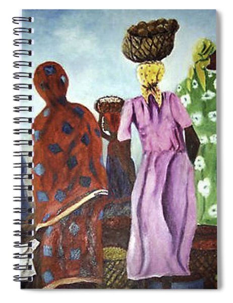 Mombasa Market Spiral Notebook
