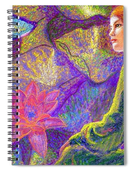 Meditation, Moment Of Oneness Spiral Notebook