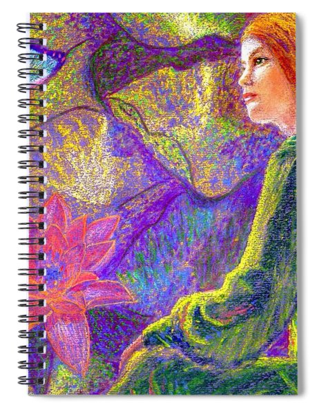Meditation, Moment Of Oneness Spiral Notebook