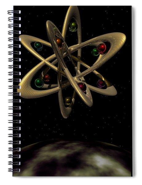 Momentary Sputnik 1  Spiral Notebook