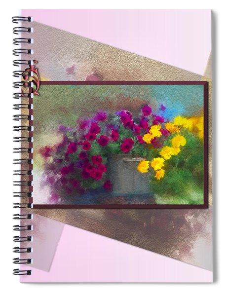 Moms Garden Art Spiral Notebook
