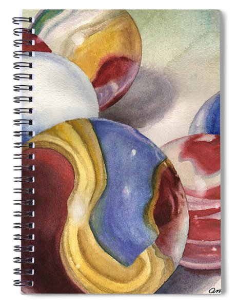 Mom's Marble Shooter Spiral Notebook