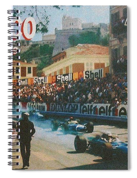 Monaco 1969 Spiral Notebook