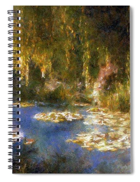Monet After Midnight Spiral Notebook