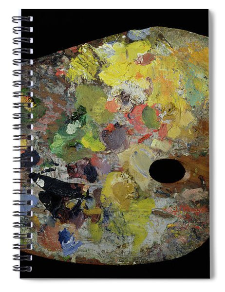 Palette Belonging To Claude Monet Spiral Notebook