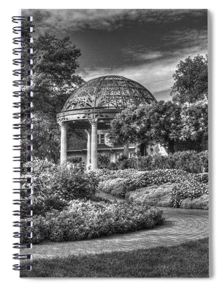 Monochrome Spiral Notebook